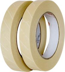 Self-adhesive tapes with indicators of