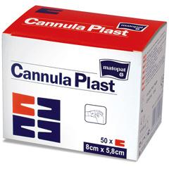 Bandage for fixing of cannulas of CannulaPlast,