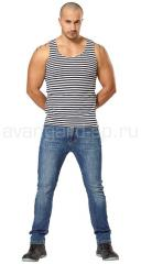 Undershirt stripped vest. Article 000429