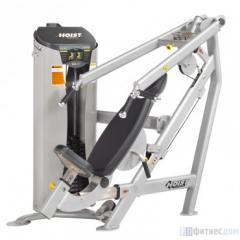 The exercise machine a multi-press from a breast /