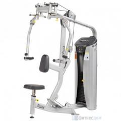 Exercise machine butterfly stroke / Back deltas of