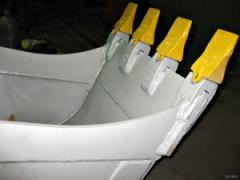 Teeths of excavators