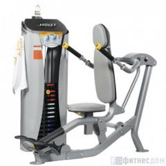 The exercise machine Push-up on HOIST RS-1101 bars