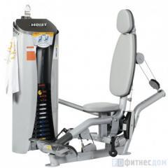 The exercise machine the Biceps sitting HOIST