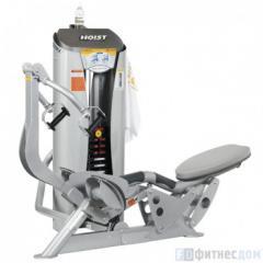 The exercise machine Rowing draft sitting HOIST