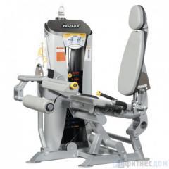 The exercise machine Bending of legs sitting HOIST