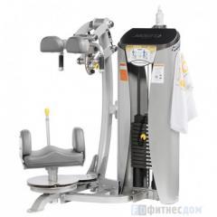 Exercise machine Rotation of a torso of HOIST
