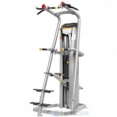 The exercise machine Pulling up/push-up by means