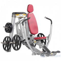 The exercise machine the Press from a breast with