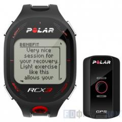 Пульсометр POLAR RCX3 GPS Black/red