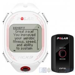 Пульсометр POLAR RCX3 GPS White