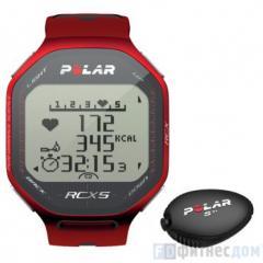 Пульсометр POLAR RCX5 SD RED