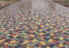 Тротуарная плитка различной конфигурации и