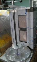 Аппарат для донера (шаурмы) газовый 2 горелки.