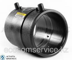 Coupling of 0160 mm PE100 SDR11 el/sv GF