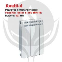 Radiator of Fondital Solar S 350 WHITE