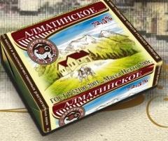 Сливочное масло Алматинское