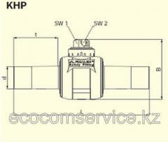 Кран шаровой из ПЭ-ВП KHP D125