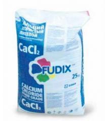 کلرید کلسیم (کلسیم کلرید) مواد غذایی Fudix