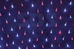 Гирлянда - сеть светодиодная 2,5 х 2,5м, свечение