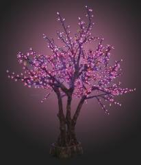 LED tree the Oriental cherry, height of 1.7