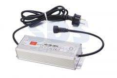 The transformer 12V, 100W for connection of RGB of