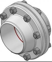 Flanges for strong and tight connection