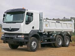 Тягачи и строительные грузовики Рено Керакс