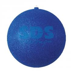 Fir-tree figure Ball, 25 cm, Blue color 502-143