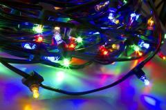 Гирлянда LED ClipLight 12V 150 мм Мульти с
