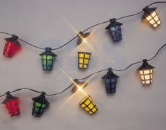 Garland Small lamps 20 m, 44 small lamps Multi