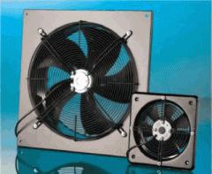 Настенные осевые вентиляторы WOS, WOKS