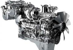 Spare parts on KOMATSU engines