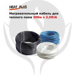 Heating cable for a heat-insulated floor