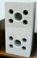 Силикатный блок 200х200х400