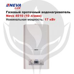 Gas flowing water heater