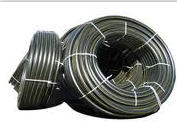 Pipes polyethylene drainage from the producer