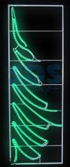 Figure light Fir-tree size 200*68sm Neon-night