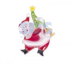 Figure light-emitting diode on a sucker Santa