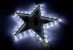 The figure a light Asterisk of LED the White