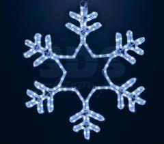 Figure LED Snowflake Light-emitting diode, without