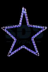 The figure a light Star the White/blue color, the