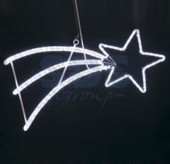 Figure the LED Falling Star the White color, 40*80