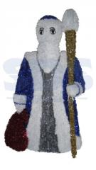 Figure Father Frost with a bag, LED illumination