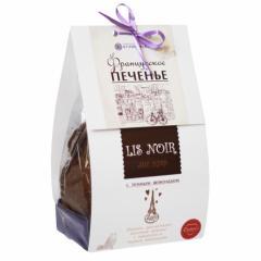 Печенье Лис нуар (с темным шоколадом)