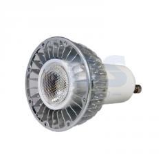 Лампа светодиодная, 5W, 220V, цоколь-GU10, цвет