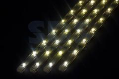 LED lamp of linear, 4 pieces x 25 cm Multikolor