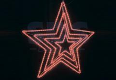 Figure 3DSL-025-LED 3D Star, light-emitting diode,
