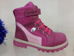 Treatment-and-prophylactic footwear in shop of