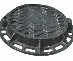 The hatch the TM sewer type main, round for